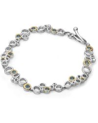 Charmian Beaton Designs - Bubbles Pretty Linked Bracelet - Lyst