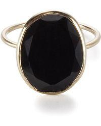 Black Betty Design Skinny Joy Black Onyx Ring