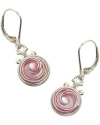 AVA Goldworks - Camellia Mother Of Pearl Earrings - Lyst