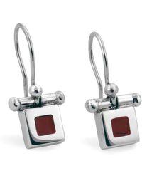 Jan D - Small Square Earrings - Lyst