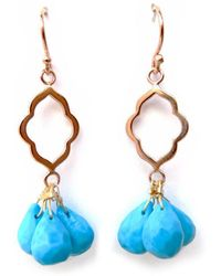 Radha - Sunset Beach Earrings - Lyst