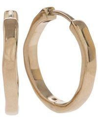 Corinne Hamak 18kt Yellow Gold Traditional Twist Earrings - Metallic
