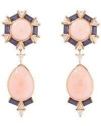 Joana Salazar - Vintage Drop Earrings - Lyst