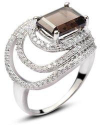 H.Azeem - Stunning Smoky Quartz Ring - Lyst