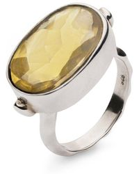 Donatella Balsamo - Sardinia Yellow Ring - Lyst