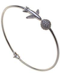 PAOLA MILANO - My Precious Bangle White Bracelet - Lyst