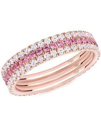 Verifine London Pretty In Pink 3-ring Combination