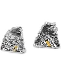 Katarina Cudic - Triangular Fence Earrings - Lyst