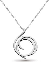 Kit Heath - Twine Helix Eloquent Necklace - Lyst