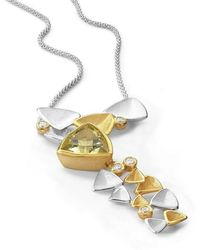 Charmian Beaton Designs - Mariposa Cocktail Necklace - Large - Lyst