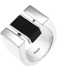 Helana Mckenzie Jewellery Designs Sterling Silver & Resin Centrepoint Ring - Metallic