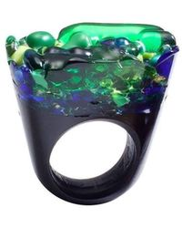 Pasionae - Murano Ring Opaque Base - Piety - Lyst