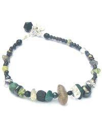 Katherine Bree - Vert Noir Seed Pearl Fragment Bracelet - Lyst
