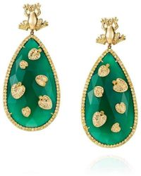 Maria Kovadi Fine Jewellery - Precious Pond Earrings - Lyst