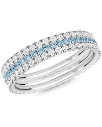 Verifine London 18kt White Royal Azure 3 R - Multicolour