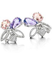 Baskania - Purple Rain Seduction Earrings - Lyst