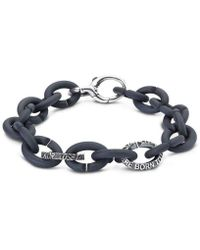 X Jewellery - Quotes Silver Bracelet - Lyst