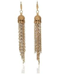 Mara Hotung - Jellyfish Earrings With Yellow Sapphires 18kt White And Yellow Gold - Lyst