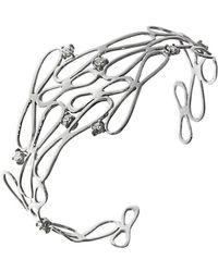 Botta Gioielli White Infinity Bracelet