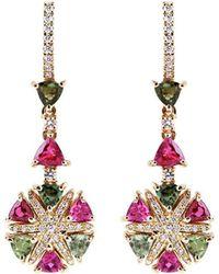 Alexandra Itouna Rainbow Star Earrings - Multicolor
