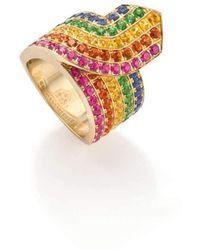 Robinson Pelham - Rainbow Tron Ring - Lyst