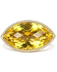Tivon Fine Jewellery - Tivon Slice Of Life Ring - Lyst