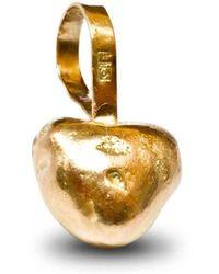 Anna Moltke-Huitfeldt - Solid Love Gold Pendant - Lyst