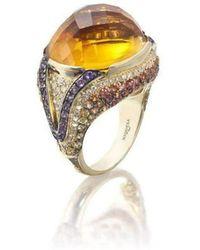 Niquesa Fine Jewellery - Venice Zanni Citrine Ring - Lyst