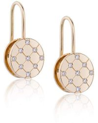 Biiju Quilt Earrings - Multicolor