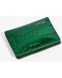 Jigsaw Travel Card Holder - Green
