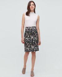 Jigsaw - Waterpool Spot Pencil Skirt - Lyst