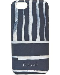 Jigsaw - Engineered Stripe Iphone 6 Case - Lyst