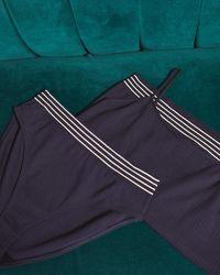 Jigsaw Jersey Vest Set Organic Cotton - Blue