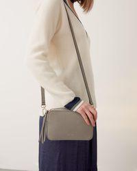 Jigsaw Farley Leather Crossbody Bag - Multicolour