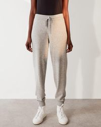 Jigsaw Soft Knit Luxe Trackpant - Grey