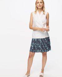 Jigsaw - Leaf Skirt - Lyst
