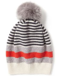 413d6c66409a2 John Lewis and Partners · Jigsaw - Kilda Faux Fur Pom Hat - Lyst