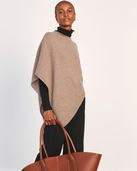 Jigsaw Open Poncho Wool Cashmere - Multicolour