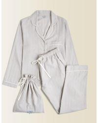 Jigsaw Sadie Herringbone Pyjamas - Multicolour
