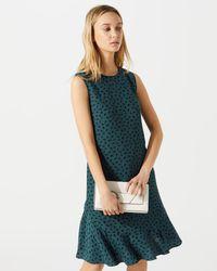 Jigsaw - Paint Splash Print Dress - Lyst