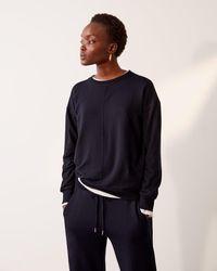 Jigsaw Luxe Sweatshirt - Blue