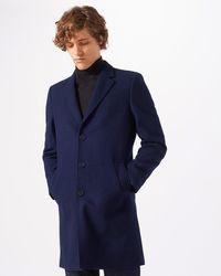 Jigsaw - Compact Wool Epsom Coat - Lyst