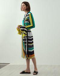 15e932f6f6be Coast Black 'daffodil' Eyelet Structured Maxi Dress in Black - Lyst