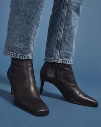 Jigsaw Calder Ankle Boot Leather - Black