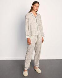 Jigsaw Herbier Pyjamas Cotton Modal - Natural