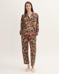 Jigsaw Wild Bouquet Pyjama Modal - Multicolour