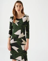 Jigsaw | Abstract Strokes Jersey Dress | Lyst