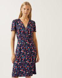 Jigsaw - Pretty Pansy Tea Dress - Lyst