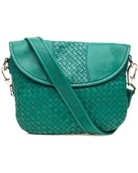 Robert Zur | Nola Crossbody Jade Leather | Lyst