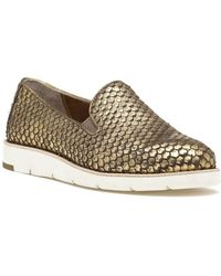 Johnston & Murphy - Paulette Slip On Gold Snake - Lyst